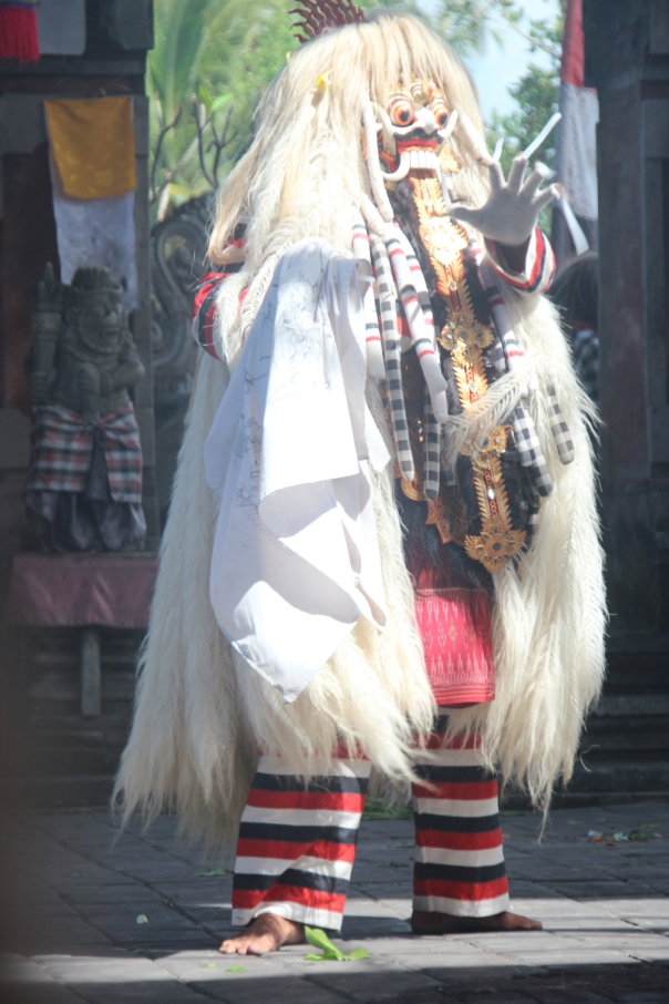 Barong dancer in Batabulan Village