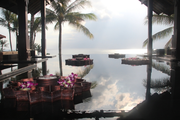 Hotel on the Indian Ocean in Tanah Lot