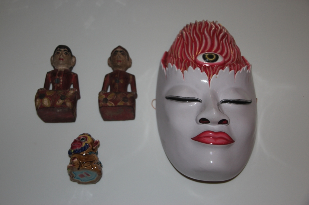 Objects from Bali and Taiwan