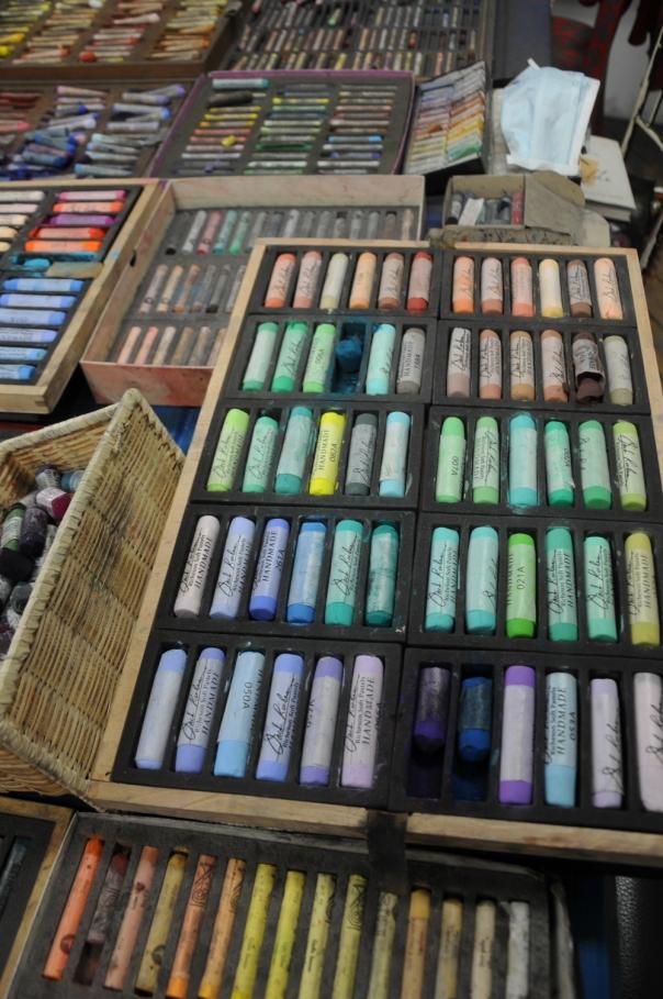 Some of Barbara's pastels