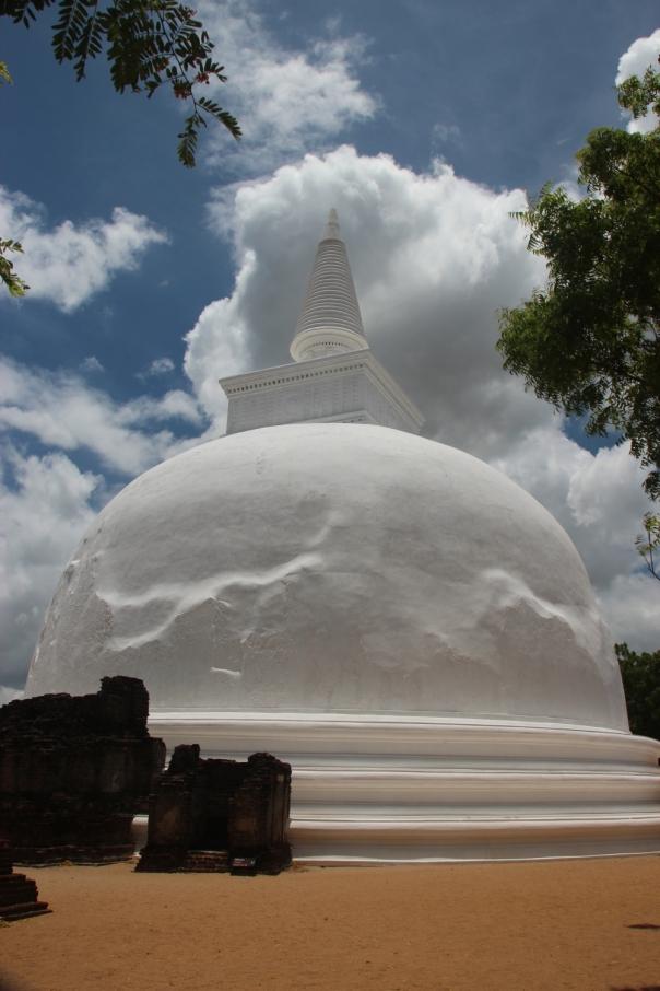 Stupa at Polunnaruwa