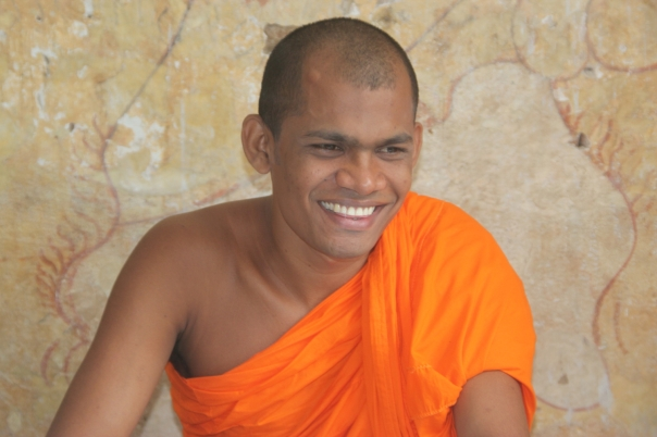 Buddhist monk, Sri Lanka