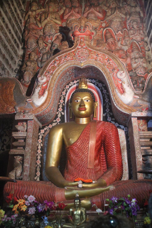 Cave temple at Natha Devale, Sri Lanka