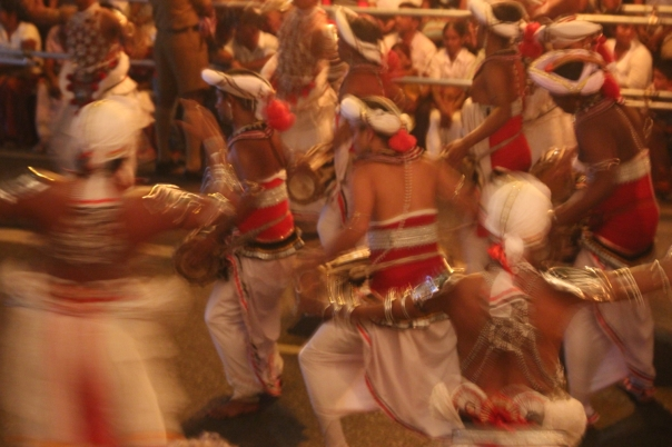 Drummers, Kandy, Sri Lanka