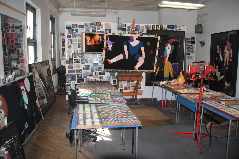 West 29th Street studio
