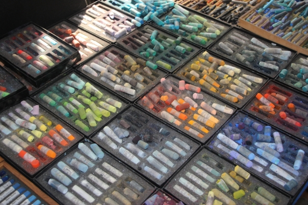 Some of Barbara's pastels