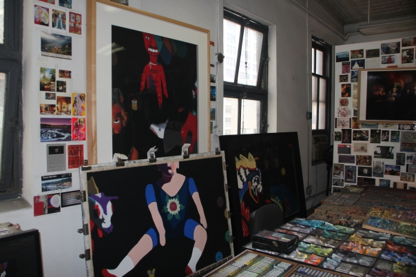 West 29th Street studio