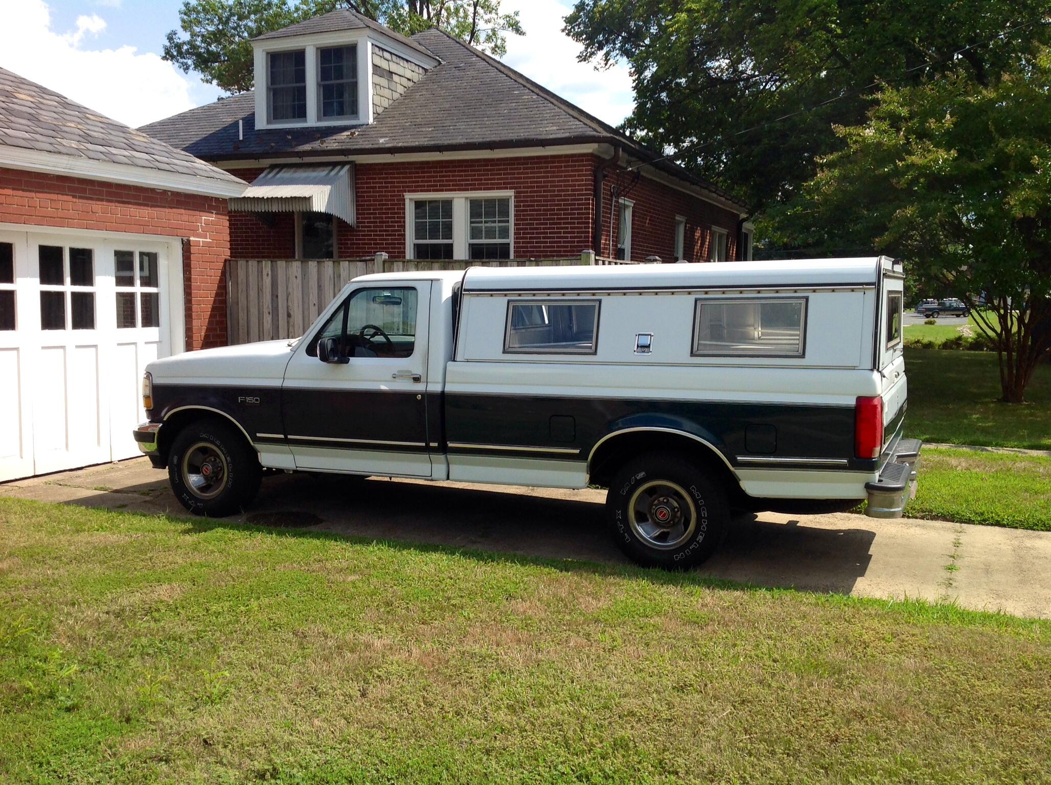 Barbara's 1993 Ford truck