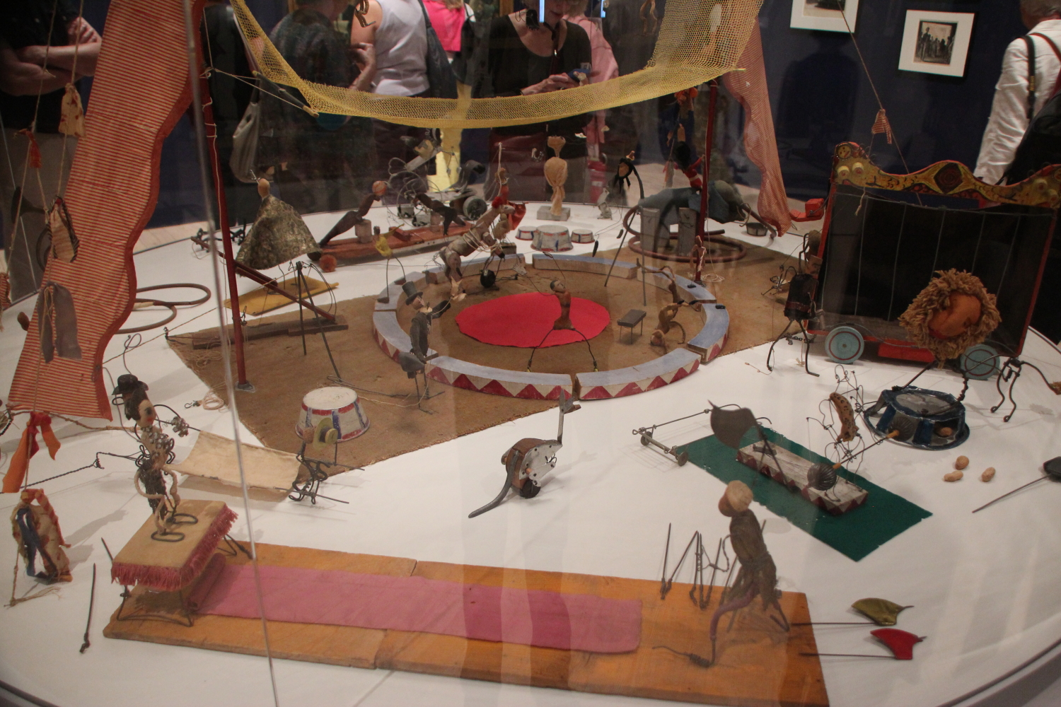 Calder's circus at the new Whitney Museum of American Art