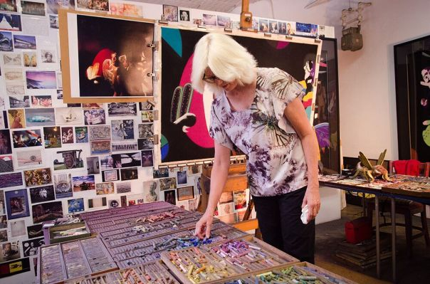 Barbara at work, Photo:  Marianne Barcellona