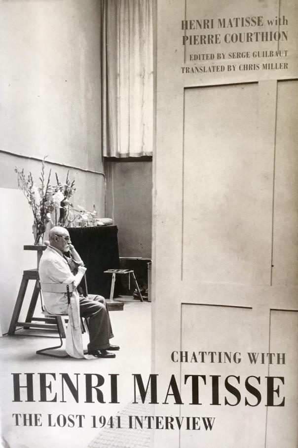 Matisse Book Cover