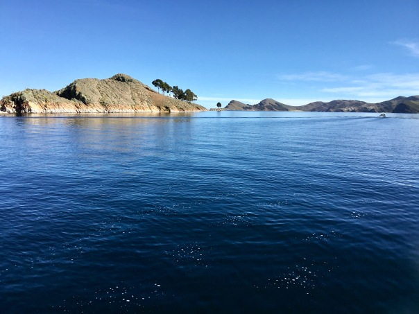In Bolivia on Lake Titicaca