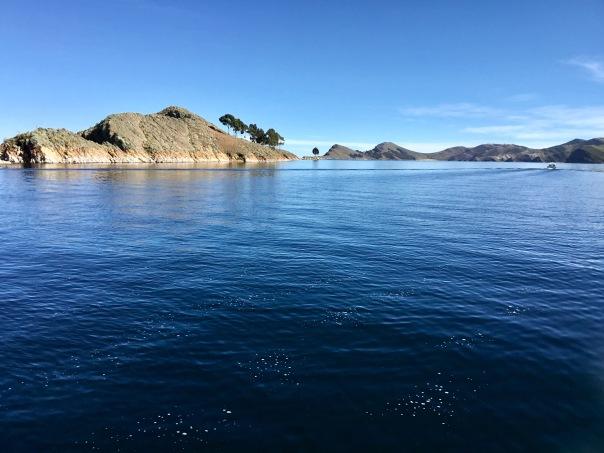 In Bolivia on Lake Titicaca