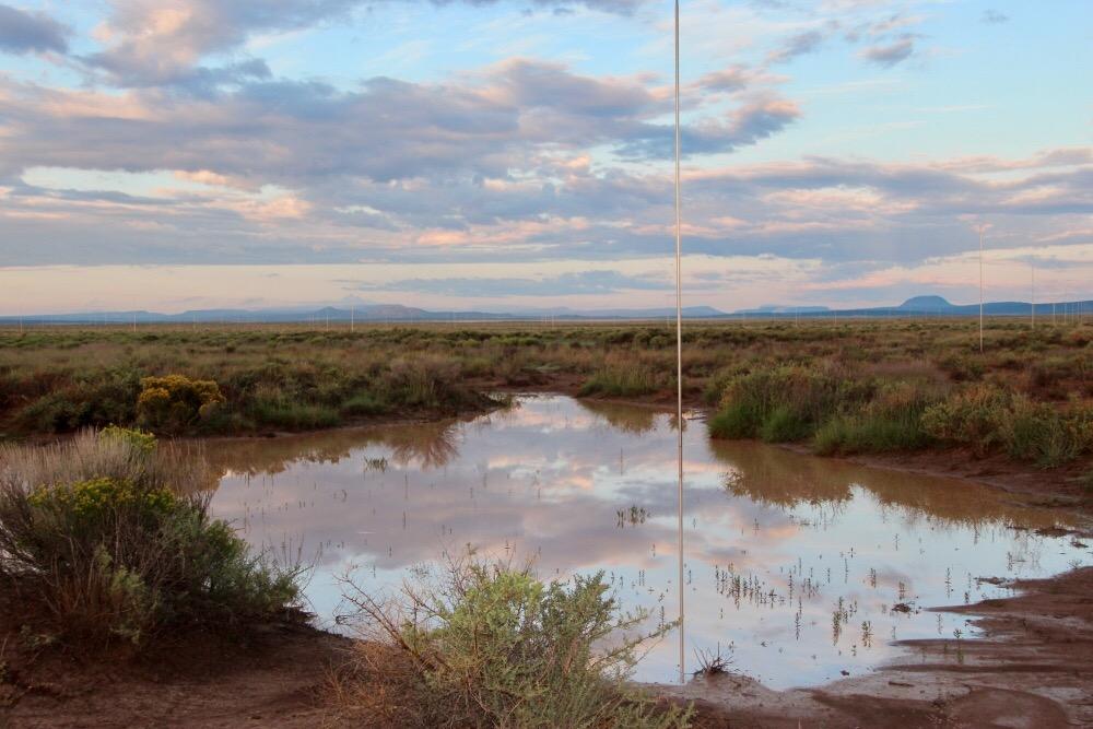 The Lightning Field, Quemado, NM