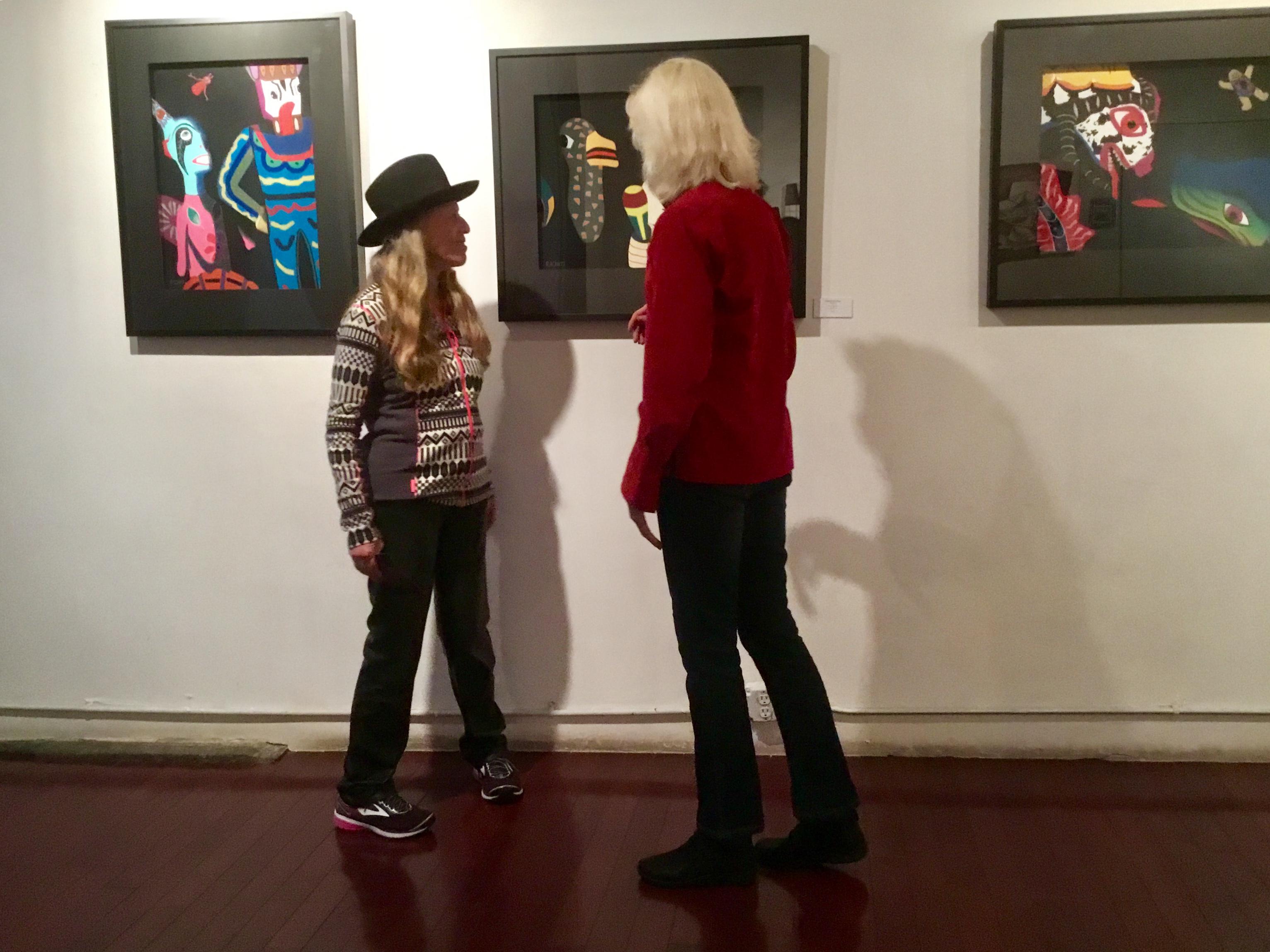 At Salomon Arts in Tribeca