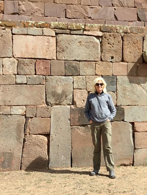 At Tiwanaku, Bolivia