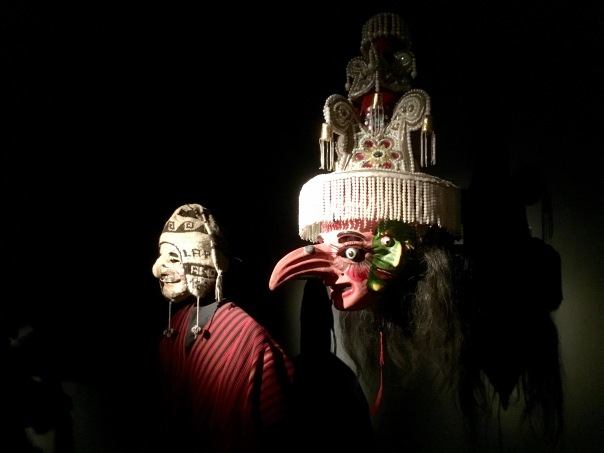 Masks at the National Museum of Ethnography and Folklore in La Paz