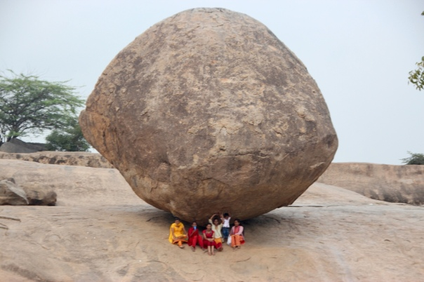 Krishna's Butterball, South India