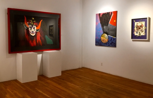 """The Orator"" in ""Worlds Seen & Unseen"" at Westbeth Gallery, NYC"