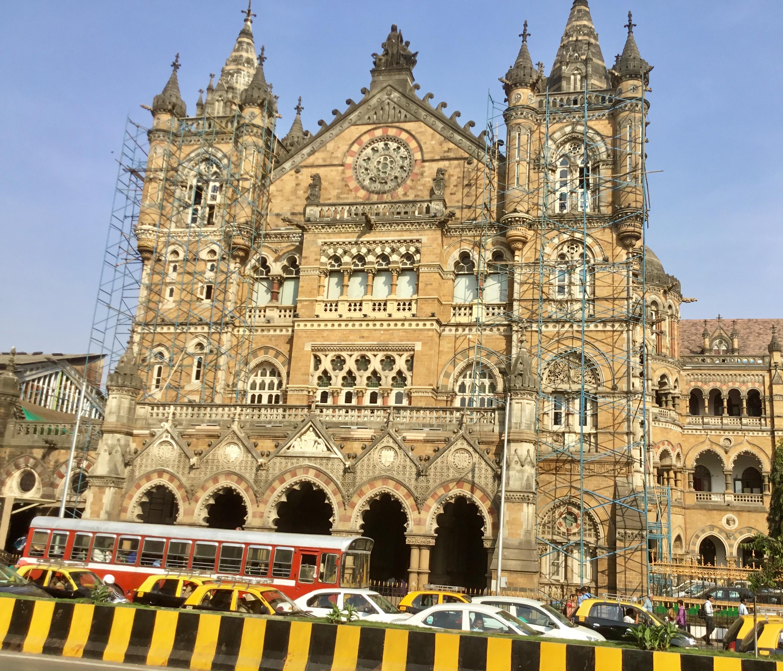 Victoria Station, Mumbai, India, targeted in the November 26, 2008 terrorist attack.