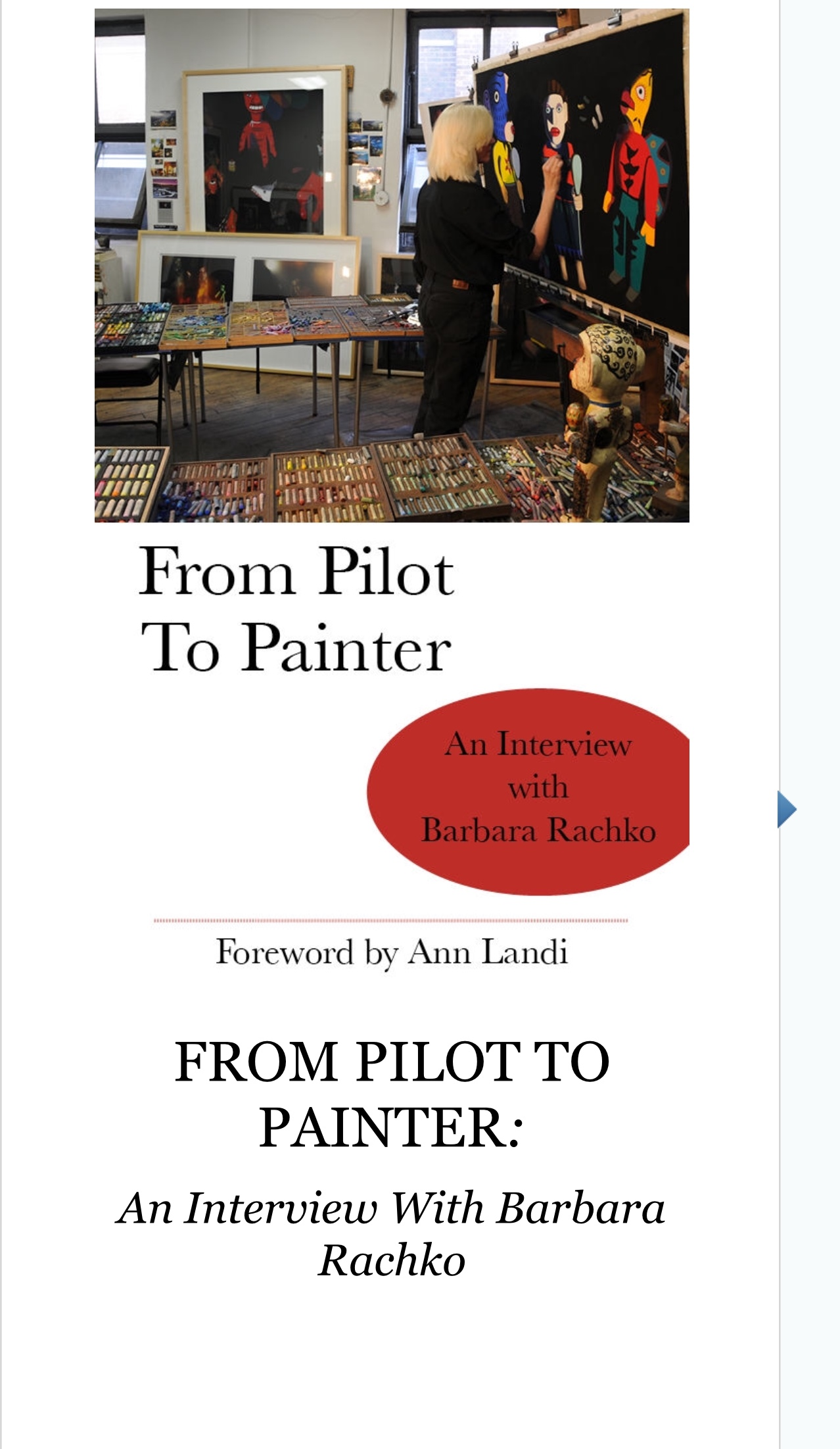 """From Pilot to Painter"""