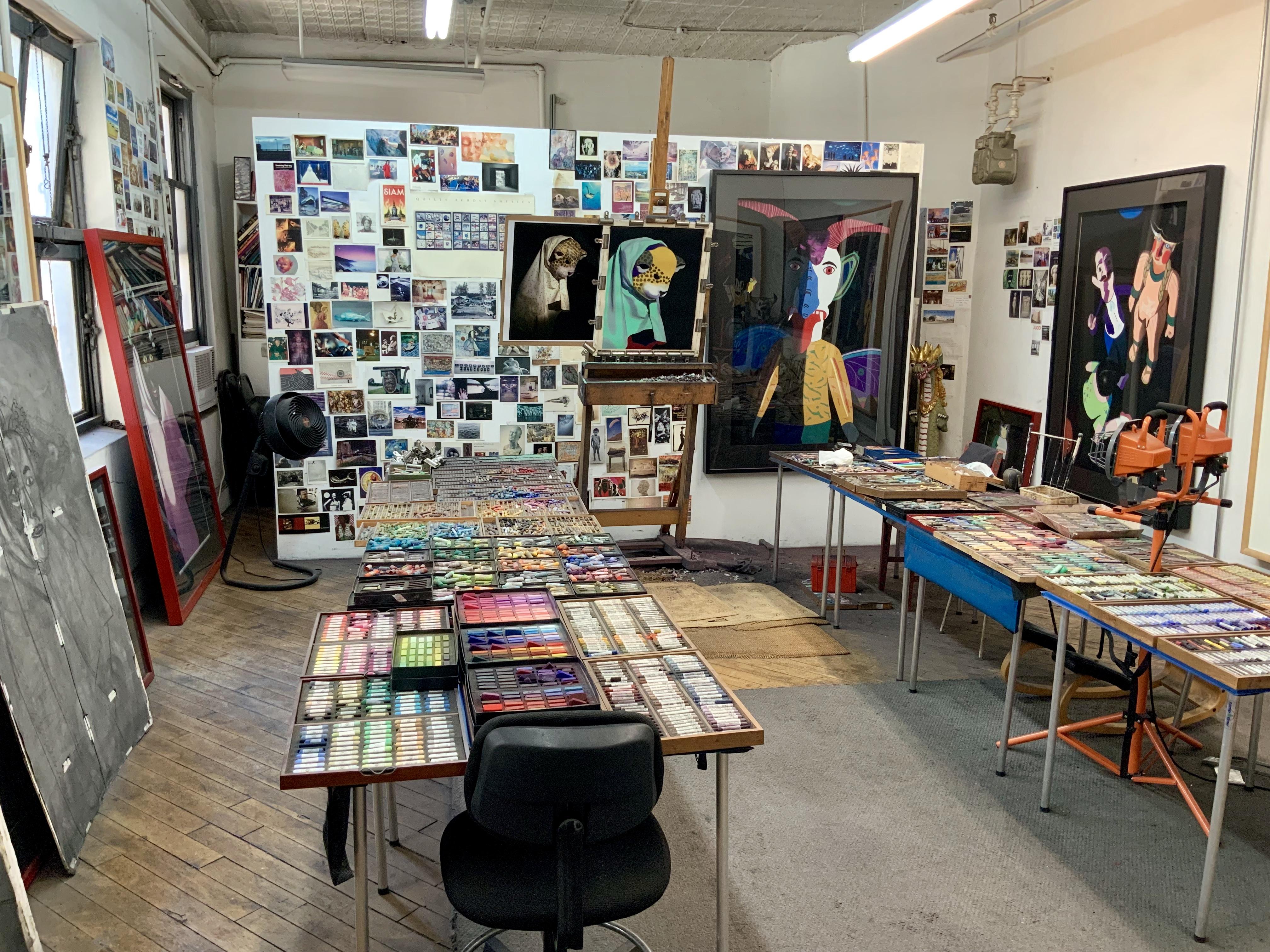 Barbara's studio